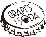 grapes & soda logo