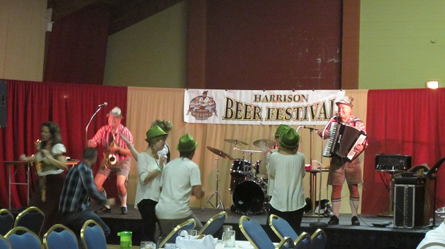 Oktoberfest offered practice at polka and beer-drinking songs