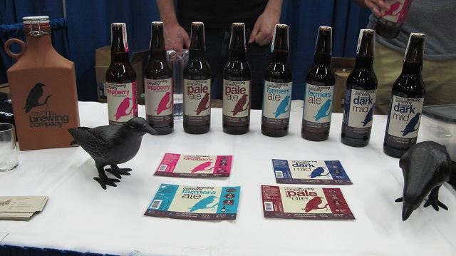 Raven's Brewing placed second at the Beer Festival
