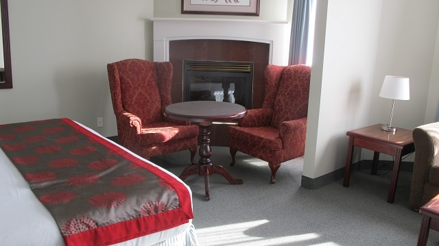 Renovated room at Ramada Harrison Hot Springs