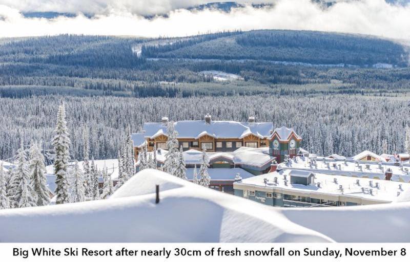Big White Ski Resort Announces Early Opening
