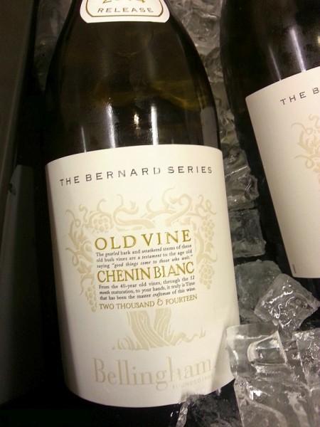 Bellingham Bernard Series Old Vine Chenin Blanc 2012