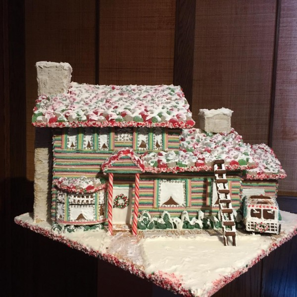 Gingerbread Display at the Laurel Point Inn