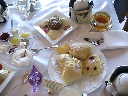 White Heather Tea Room in Oak Bay