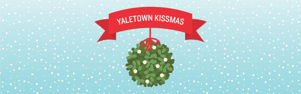Yaletown Kissmas Makes Holiday Shopping Magical