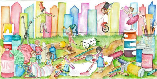 children's arts festival feature