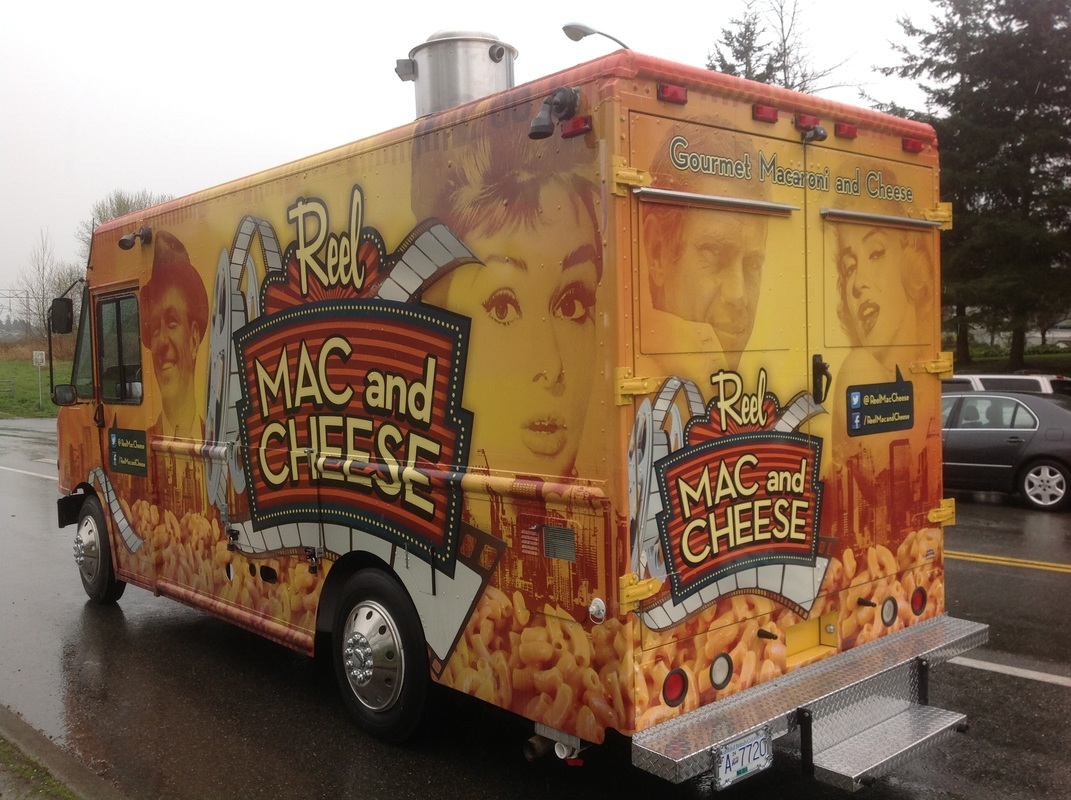 Reel Mac And Cheese Food Truck