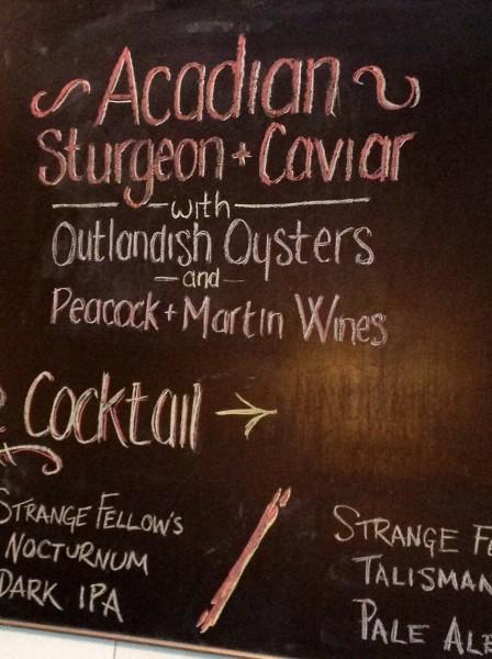 Acadian Sturgeon 4