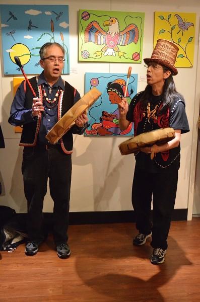 Ravens, Eagles and Polka Dots - a Haida welcome