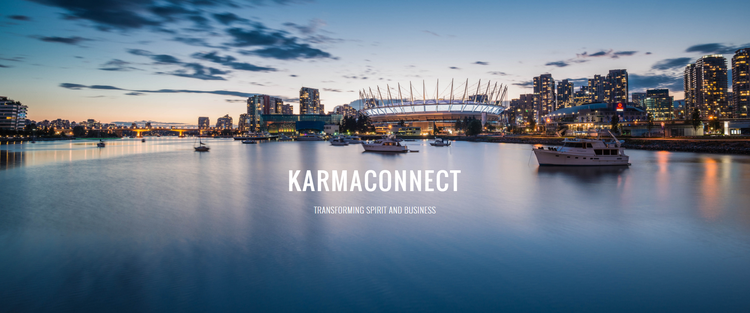 KarmaConnect is a transformational speaking and networking event