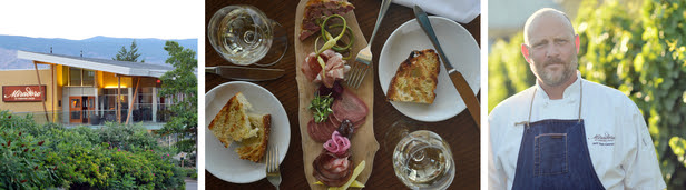 Miradoro Restaurant Reopens for 2016 at Tinhorn Creek Vineyards