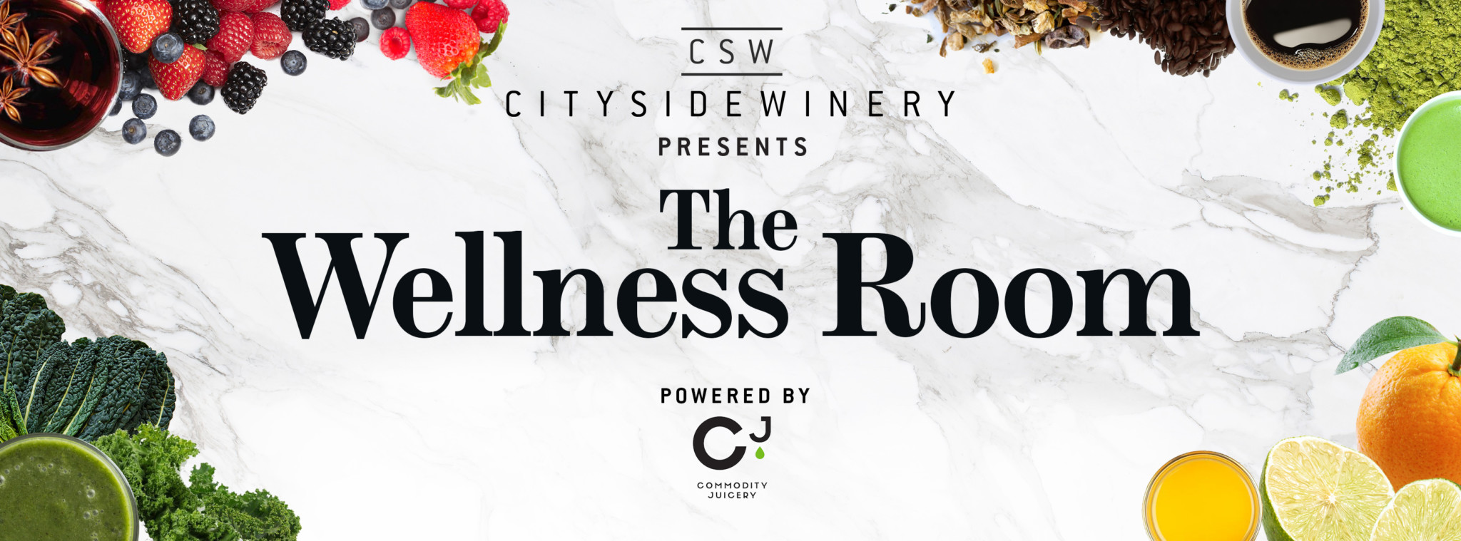 City Side Winery Presents the Wellness Room