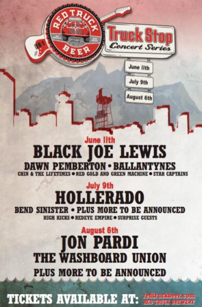 2016 Truck Stop Concert Poster