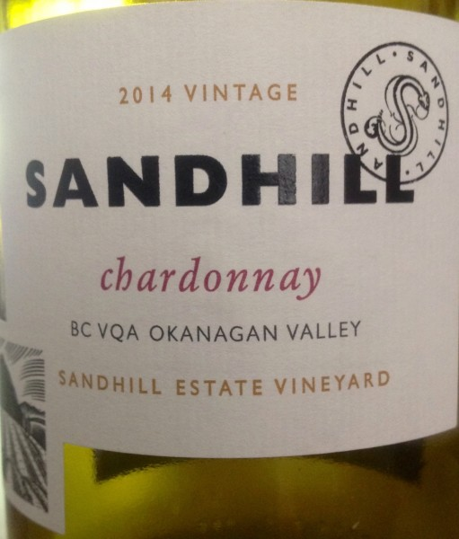 Sandhill 2014 Chardonnay