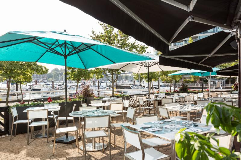 ANCORA WATERFRONT DINING AND PATIO OPEN FOR WEEKDAY LUNCH AND SUNDAY BRUNCH