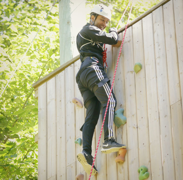 camp Climbing Wall
