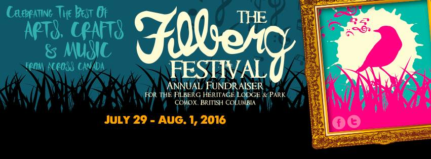 34th Annual Filberg Festival July 29-August 1, 2016