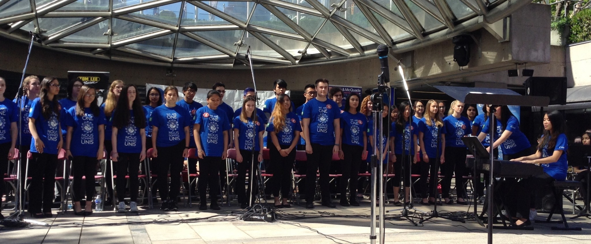Music Monday at Robson Square on May 2nd