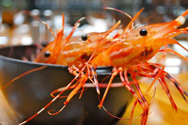 WILD BC SPOT PRAWN BOIL at YEW seafood + bar
