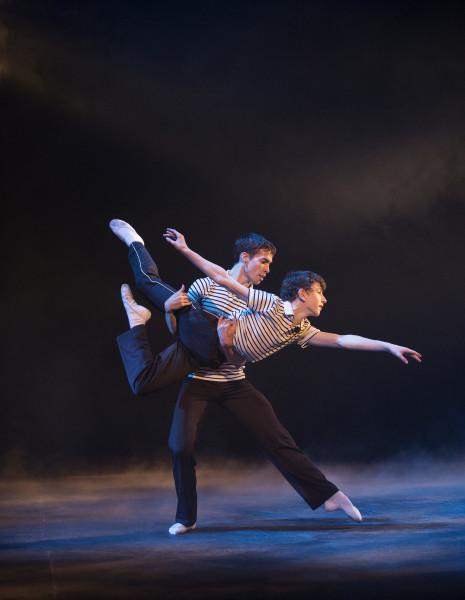 Nolan Fahey and Matthew Cluff - photo by David Cooper