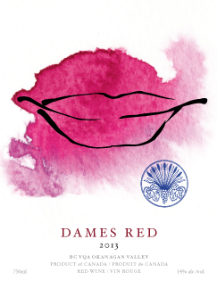 DAMES-RED-label