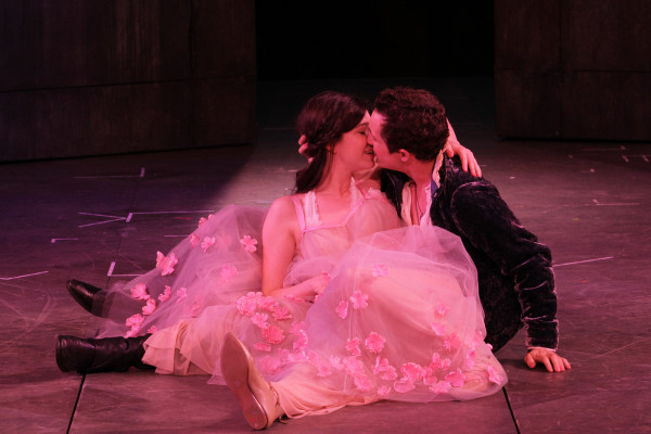 Hailey Gillis & Andrew Chown ROMEO AND JULIET, 2016 Bard on the Beach Photo: David Blue