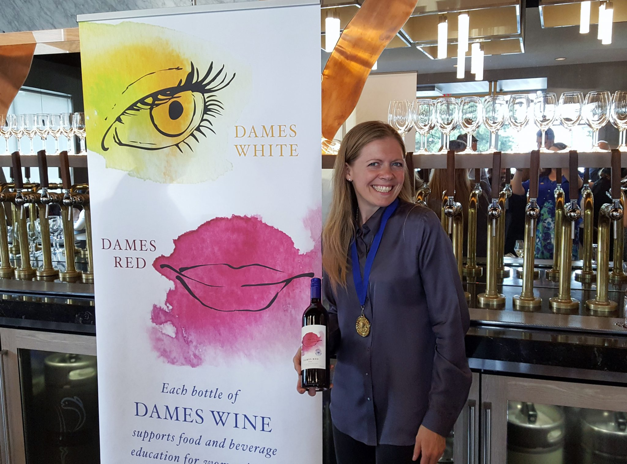 Dames Wine Support BC Women's Education