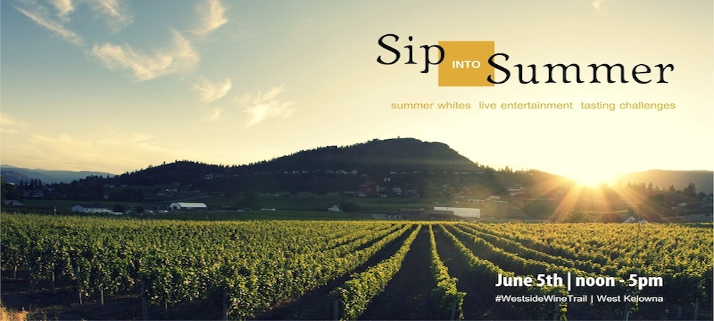 Sip into Summer with the Westside Wine Trail