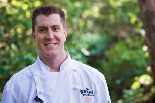 Wickaninnish Inn Chef Warren Barr