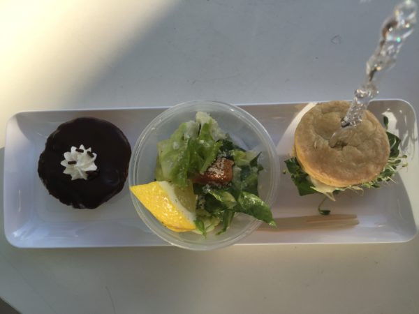 Tasting Plate from Chomp Vegan Eatery and Fairy Cakes