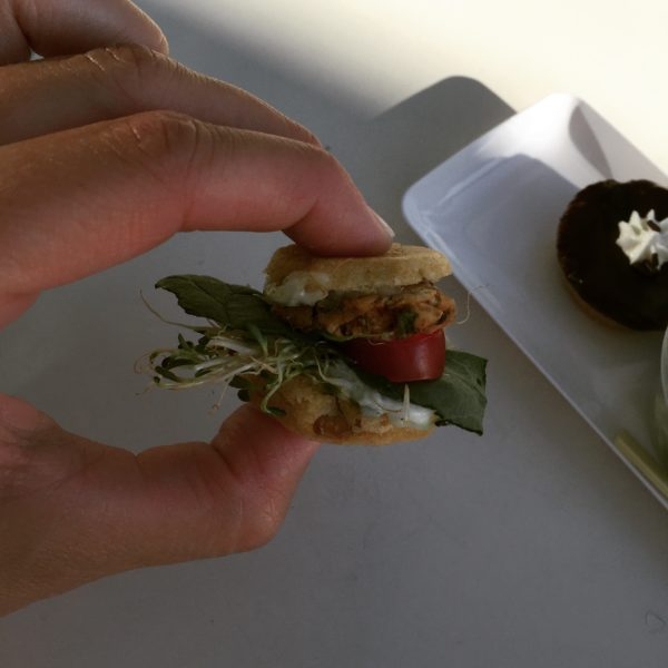 Mini Chomp Slider from Chomp Vegan Eatery
