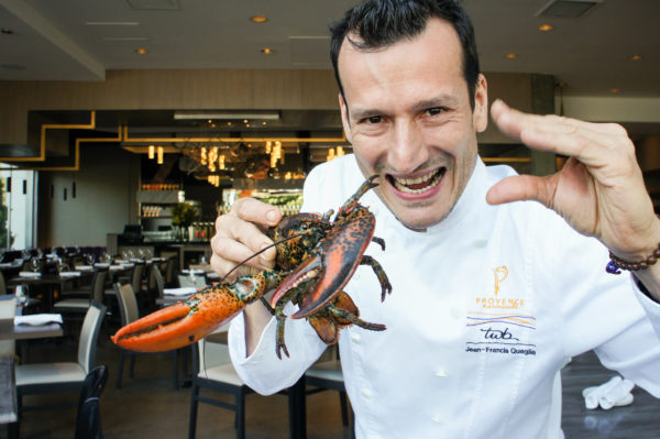 provence lobster with chef