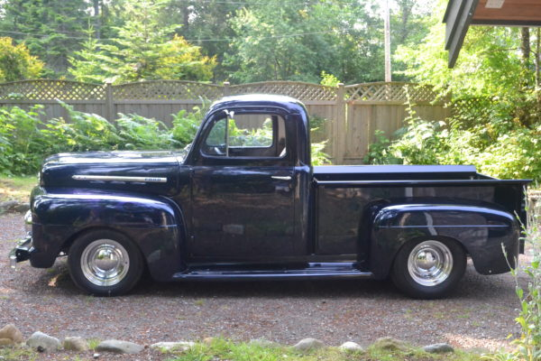 1951 (modified) Ford pick-up