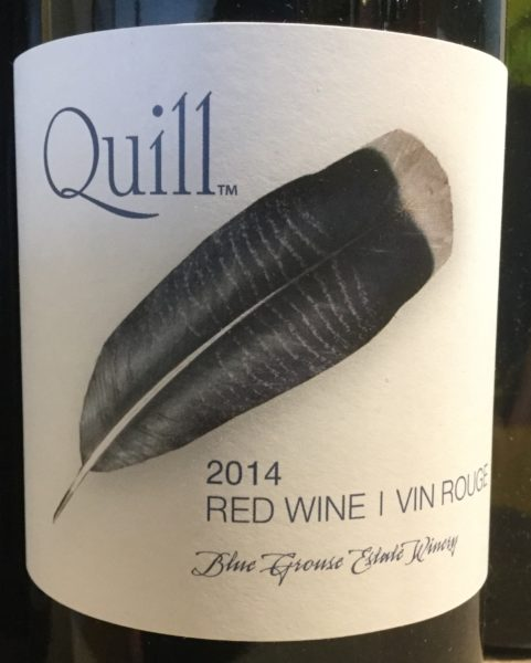 BG Quill 2014 Red Wine
