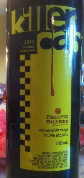 Pacific Breeze 2013 Killer Cab