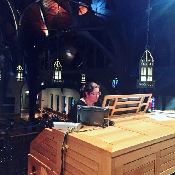 Christina Hutton - Organist