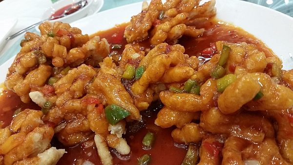 Deep Fried Cod Fillet with Sweet and Sour Sauce image by Karl