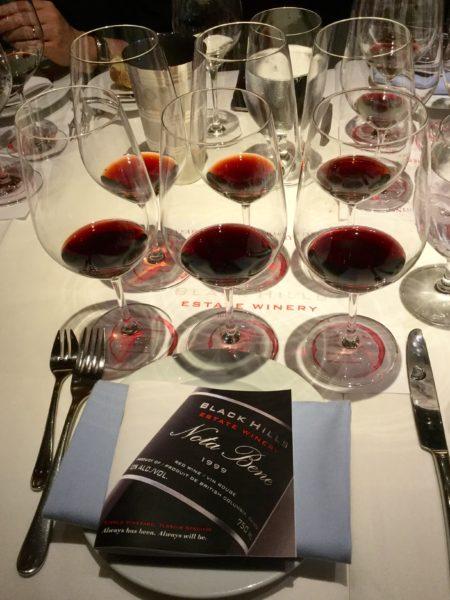 Nota Bene Six Wines Spanning Fifteen Years My Van City