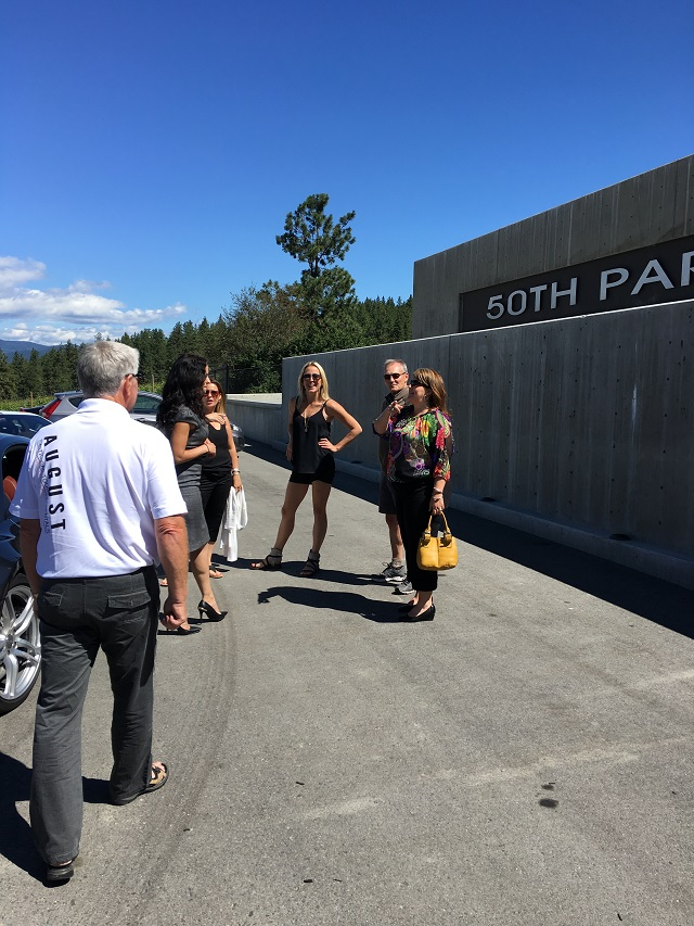 We arrive at 50th Parallel