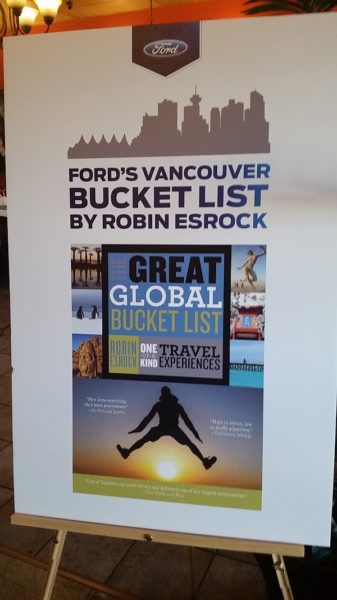 Ford Vancouver Bucket List with Robin Esrock