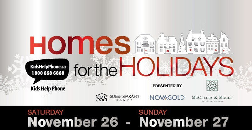 GIVEAWAY – Two tickets to Homes for the Holidays
