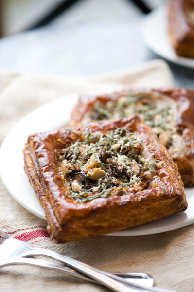 Chestnut Mushroom Tarte credit Betty Hung