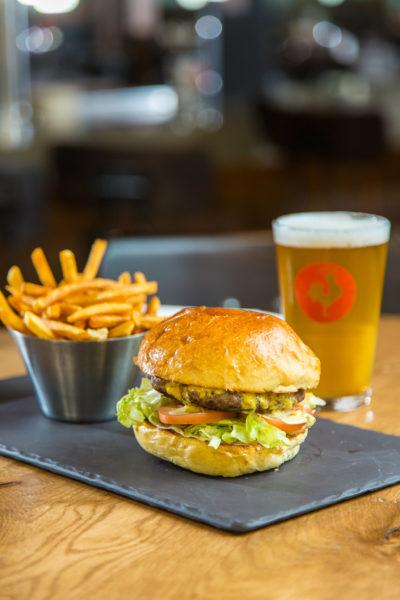 Big Rock Brewery Burger