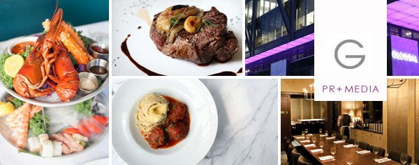 Glowbal Restaurant Group announces Coast's new menu items, Cocktail Hour and Friday lunch feature