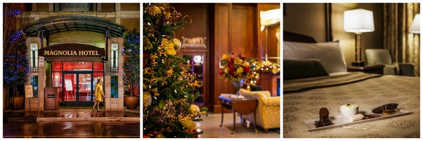 Festive trails and Christmas treats ensure happy holidays at Magnolia Hotel & Spa