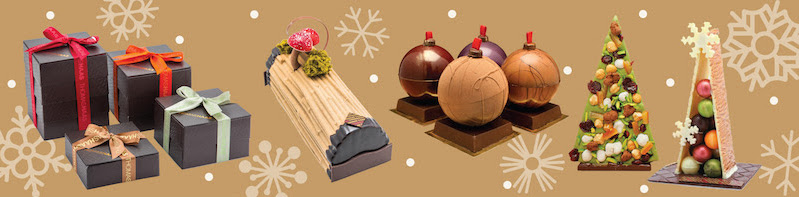 HAAS FOR THE HOLIDAYS: THOMAS HAAS MAKES SPIRITS BRIGHT THIS FESTIVE SEASON WITH SIGNATURE CHOCOLATE CREATIONS