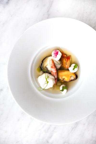 Shellfish Parfait credit Leila Kwok