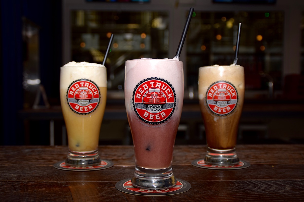 The Truck Stop Diner at Red Truck Beer launches craft beer floats and new menu items