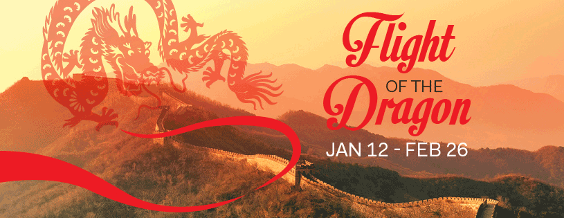 Come Soar Over China at FlyOver Canada  January 12 – February 26, 2017  10am to 9pm daily