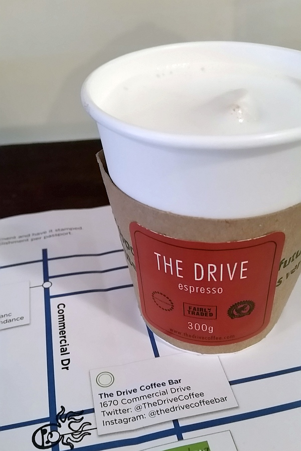 The Drive Coffee Bar Lavender London Fog